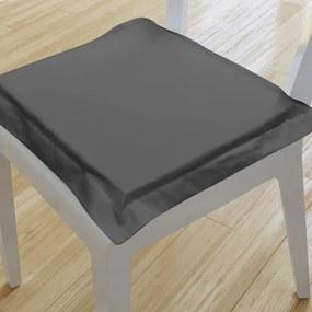 Goldea pernă pentru scaun cu ornamente 38x38 cm - gri închis 38 x 38 cm