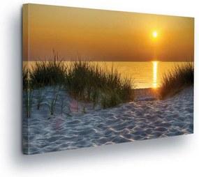 GLIX Tablou - Sunset on Beach III 100x75 cm