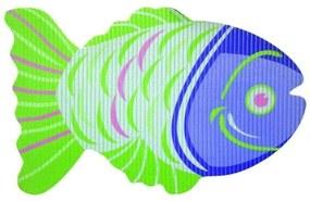 Covoras baie din spuma poliuretanica, Fish Verde