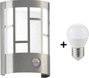 Eglo 94798 - LED Lampă exterior cu senzor CERNO 1xE27/6W/230V IP44
