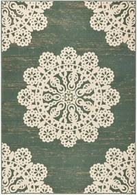 Covor Hanse Home Gloria Lace, 80 x 150 cm, verde