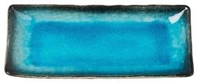 Farfurie servire din ceramică MIJ Sky, 29 x 12 cm, albastru