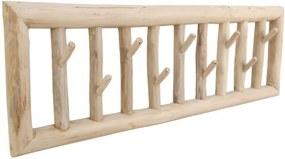 Cuier de perete din lemn de tec HSM collection Teako