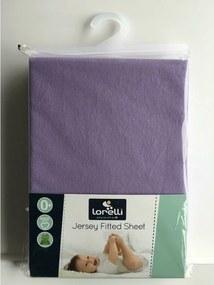 Lorelli - Cearceaf Jersey 60/120 cm Purple