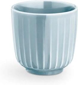 Ceașcă din porțelan pentru espresso Kähler Design Hammershoi, 1 dl, albastru deschis