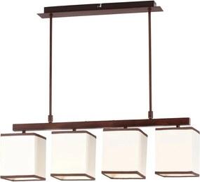 Rábalux Kubu 2898 Lampi de sufragerie bej metal E14 4x MAX 40W IP20