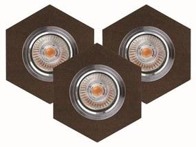 Spot-Light 2518376 - SET 3x Lampă încastrată LED VITAR 3xGU10/5W/230V