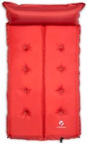 Yukatana Goodbreak 10, 10 cm, roșie, saltea gonflabilă, autogonflabilă, secțiune pentru cap