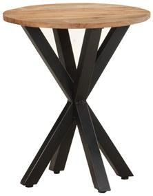 320657 vidaXL Masă laterală, 48x48x56 cm, lemn masiv de acacia