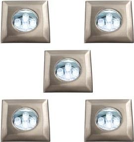 Massive 59055/17/10 - SET 5x LED Lampă încastrată 5xLED/0,39W/230V/12V