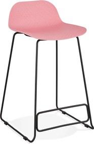Scaun de bar Kokoon Slade Mini, înălțime 66 cm, roz