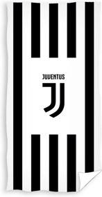 Prosop Juventus Black Stripes, 70 x 140 cm