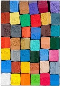 Covoraș din vinilin Colorful, 52 x 75 cm