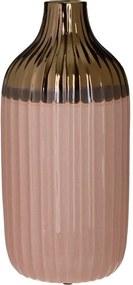 Ramya Vaza mare, Ceramica, Crem