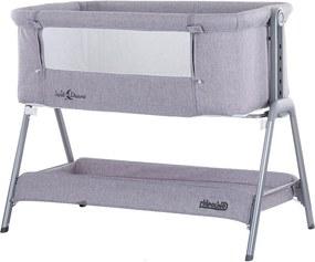 Patut Co-Sleeper Chipolino Sweet Dreams grey