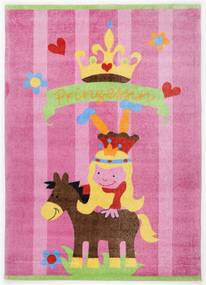 Covor Copii & Tineret Wing, Roz, 120x180