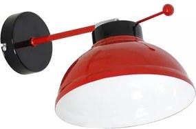Aplica perete FACTOR RED E27/60W/230V