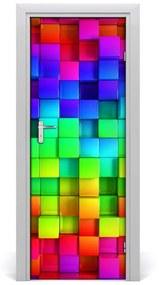 Autocolante pentru usi cutii colorate