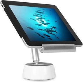 OneConcept Shinepad Bluetooth cu LED-uri lampă de masă cu suport difuzor și tabletă