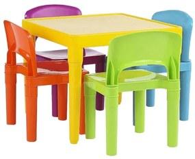 Set pentru copii 1 + 4 multicolor ZILBO