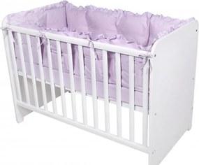 Set protectii laterale pentru pat 4 piese 60 x 120 cm Violet