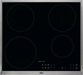 Plita incorporabila inductie AEG IKB64301XB, 60 cm, conectivitate hota