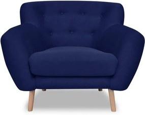 Fotoliu Cosmopolitan design London, albastru
