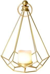 Felinar LED Best Season Dome alamă