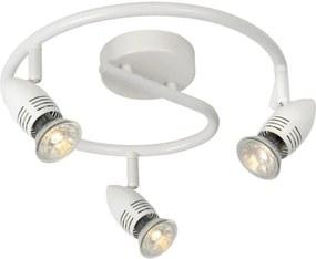Lucide 13955/14/31 - Lampa spot LED CARO-LED 3xGU10/5W/230V alba
