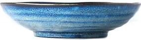 Farfurie adâncă din ceramică MIJ Indigo, ø 21 cm, albastru