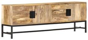 285863 vidaXL Comodă TV, 140 x 30 x 50 cm, lemn masiv de mango
