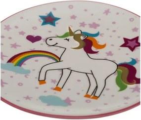 Set 2 farfurii din porțelan Unimasa Unicorn
