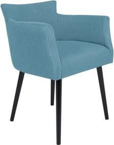 Scaun cu cotiere Windsor & Co Sofas Gemini, albastru deschis