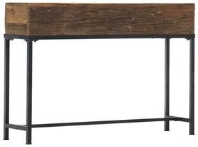 282891 vidaXL Masă consolă, 120 x 30 x 80 cm, lemn masiv reciclat