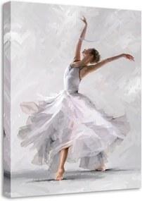 Tablou Styler Canvas Waterdance Dancer II, 60 x 80 cm