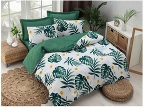 Lenjerie din bumbac pentru pat de o persoană Puresso Jungle, 140 x 200 cm