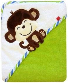 Prosop cu capison 76x76 cm - Bobobaby - Maimuta Verde