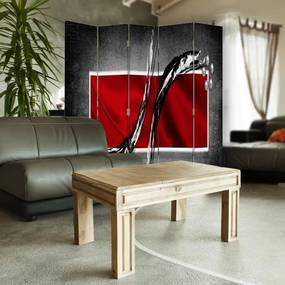 CARO Paravan - Abstract 2 | cinci păr?i | reversibil 180x150 cm