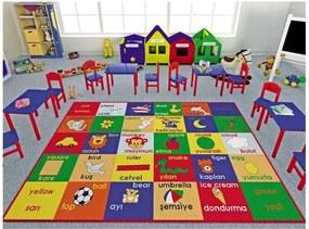 Covor pentru copii Study Time, 133 x 190 cm