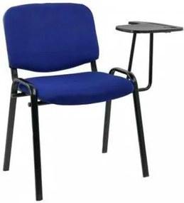 Scaun conferinta cu masuta rabatabila HRC 606 Albastru