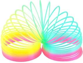 Arc curcubeu jocul copilariei multicolor cu particule de sclipici