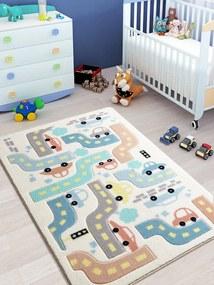 Covor pentru copii Baby Car 100 x 150 cm