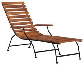 44390 vidaXL Scaun de exterior pentru terasă, lemn masiv de acacia