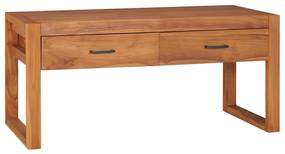 325272 vidaXL Comodă TV, 100 x 40 x 45 cm, lemn de tec reciclat