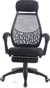 Scaun ergonomic, mesh, recliner, SIB 67996B