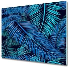 Tocator din sticla frunze de palmier