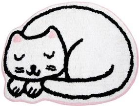 Covoraș decorativ Cutie Cat Nap Time, bumbac
