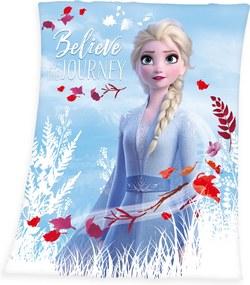 Pătură de copii Frozen 2 Believe journey, 130 x 160 cm
