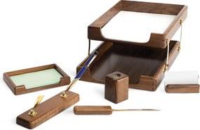 Set birou lux Forpus 470354 lemn