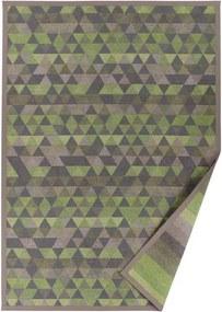 Covor reversibil Narma Luke, 160 x 230 cm, verde